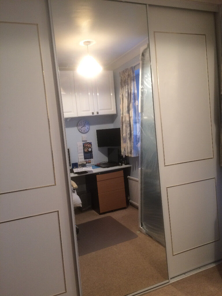 3 Sliding Wardrobe Doors Floor To Ceiling In Addlestone Surrey