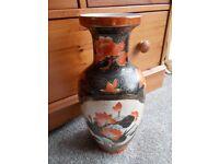 Large vintage Oriental vase