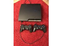 Playstation 3 320gb with 2 controllers and 16 games- Open to offers
