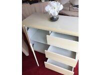 White Sturdy Storage Cabinet