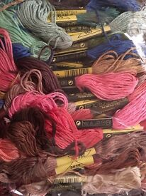 Embroidery Thread 50x8m Mixed Colours