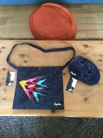 Rapha Mussette bag and cap