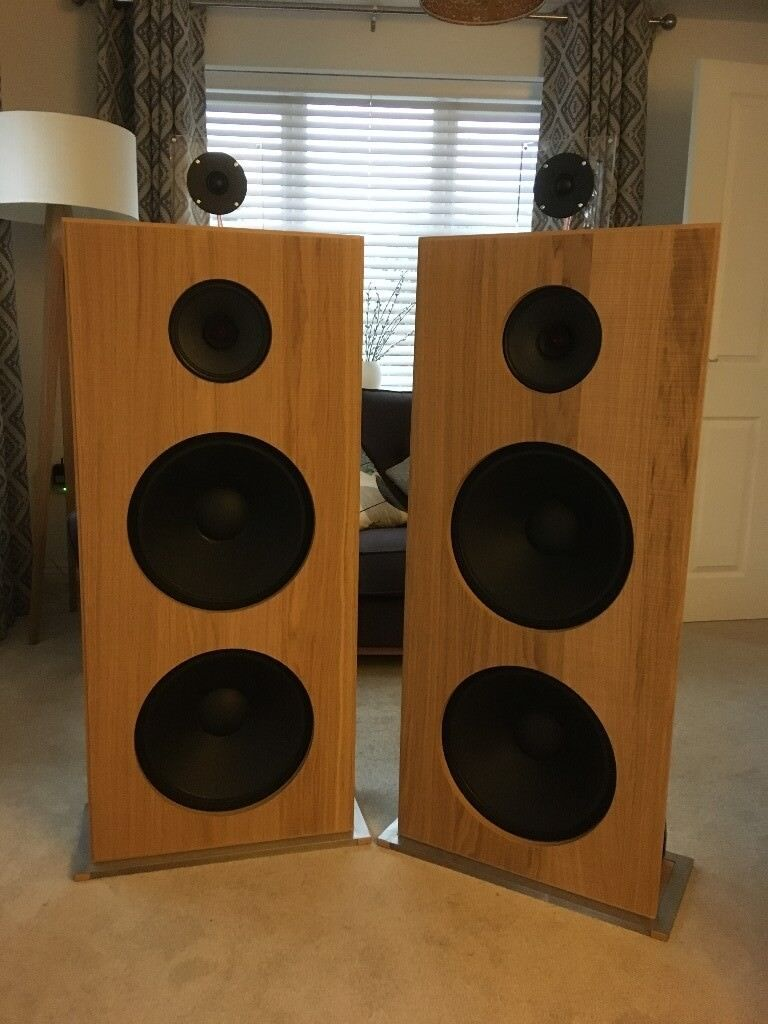 Open baffle stereo speakers | in Keynsham, Bristol | Gumtree