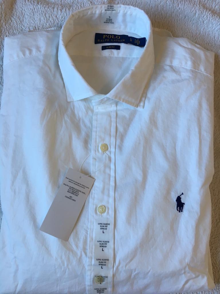 Ralph Rrp WalsallWest Men Fit Navy Shirt Lauren £85In Slim Midlands White Pony Polo Large Long Sleeves Gumtree T1KFJc3l