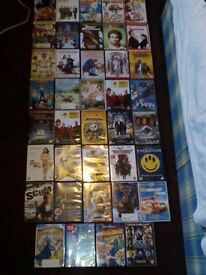 DVD movies for sale (39 pieces)
