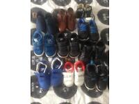 Infant boys trainers and shoes