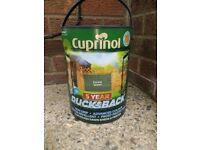 Cuprinol 5 litre garden paint NEW