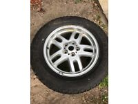 255/60r18 goodyear brand new with alloy