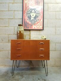 G Plan Mid Century Vintage Chest Drawers