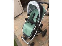 Uppababy Vista Travel System with lots of extras