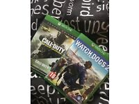 2 Xbox one games for £20