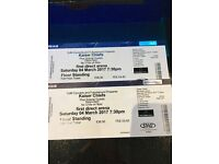 Kaiser Chiefs tickets £75