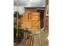 6×4 shed bought from b&q new
