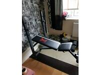 Height Adjustable Weight Bench