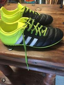 Adidas Astro Turf boots size 3