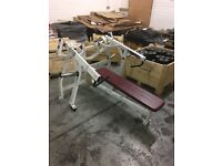 HAMMER STRENGTH ISO LATERAL HORIZONTAL BENCH PRESS FORSALE!!