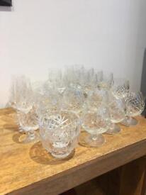 27 piece Whisky & Wine Glass set