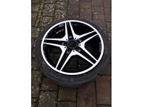 18'' alloy wheel Mercedes CLA 2014