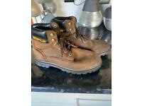 Caterpillar Boots size 8