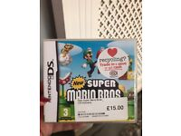 Super Mario world ds game