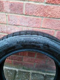 185/55R15 Car Tyres (Dunlop Sport BluResponse) (£25 each 2 available)