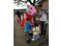 Party costume mascot hire and appearance entertainer