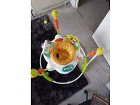 fisher price jumperoo- Wimbledon-£30