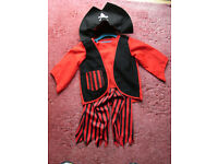 used priate costume -age 5-7yrs