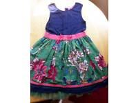 Monsoon Girls Dress 9-10 Years