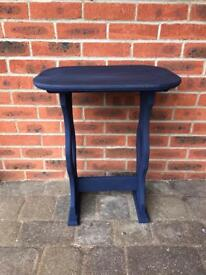 Hall / side / console table painted in horn blower