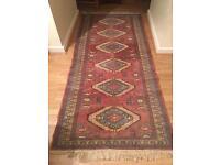 "5' x 2'6"" high quality vintage Persian carpet / rug"