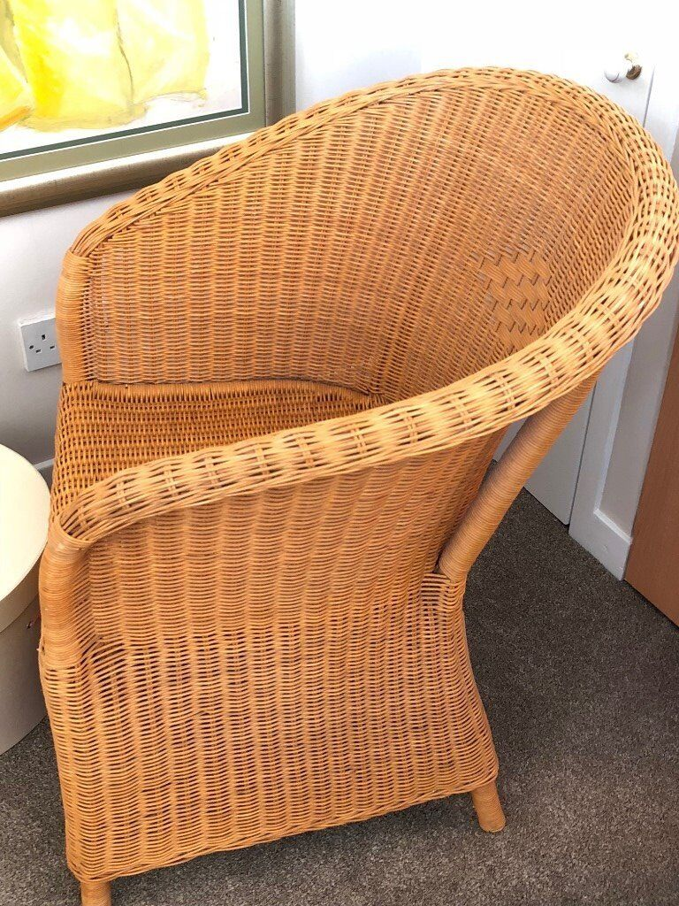 Ikea Wicker Chair Excellent Condition In Bathgate