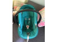 Cybex baby car seat inc isofix & adapters