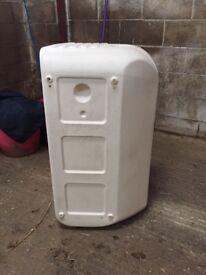 Ifor Williams door mounted tack box