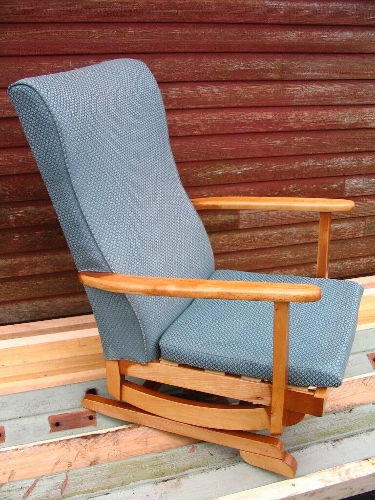 Outstanding Platform Rocking Armchair Spring Rocker Chair Nursing Chair Mid Century 1950 60S Danish Style In Wester Hailes Edinburgh Gumtree Gmtry Best Dining Table And Chair Ideas Images Gmtryco