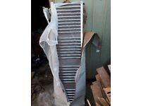 New chrome radiator