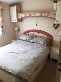 3 bedroom willerby sailsbury static caravan inc decking