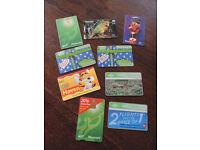 6 x Vintage BT Phonecards & 2 x New Zealand Phone cards