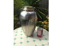 Brass & stainless steel Vase Urn.
