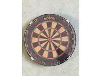 Vintage Nodor Bristle Dart Board from the 1970s