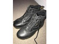 Dr martins safety boots, as new worn twice