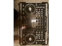American audio vms 4.0 midi mixer inc flight case