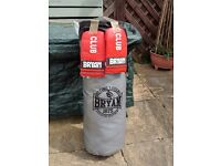 Punch bag with gloves
