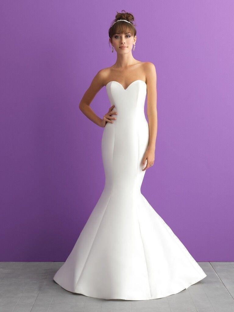 BNWT Allure Bridal Fishtail Wedding Dress - Cost £1400 | in ...