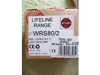 Wylex lifeline range 230v 30mA trip switch