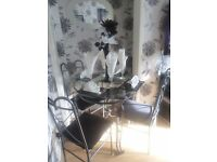 Round Dining Table and 4 chairs for sale