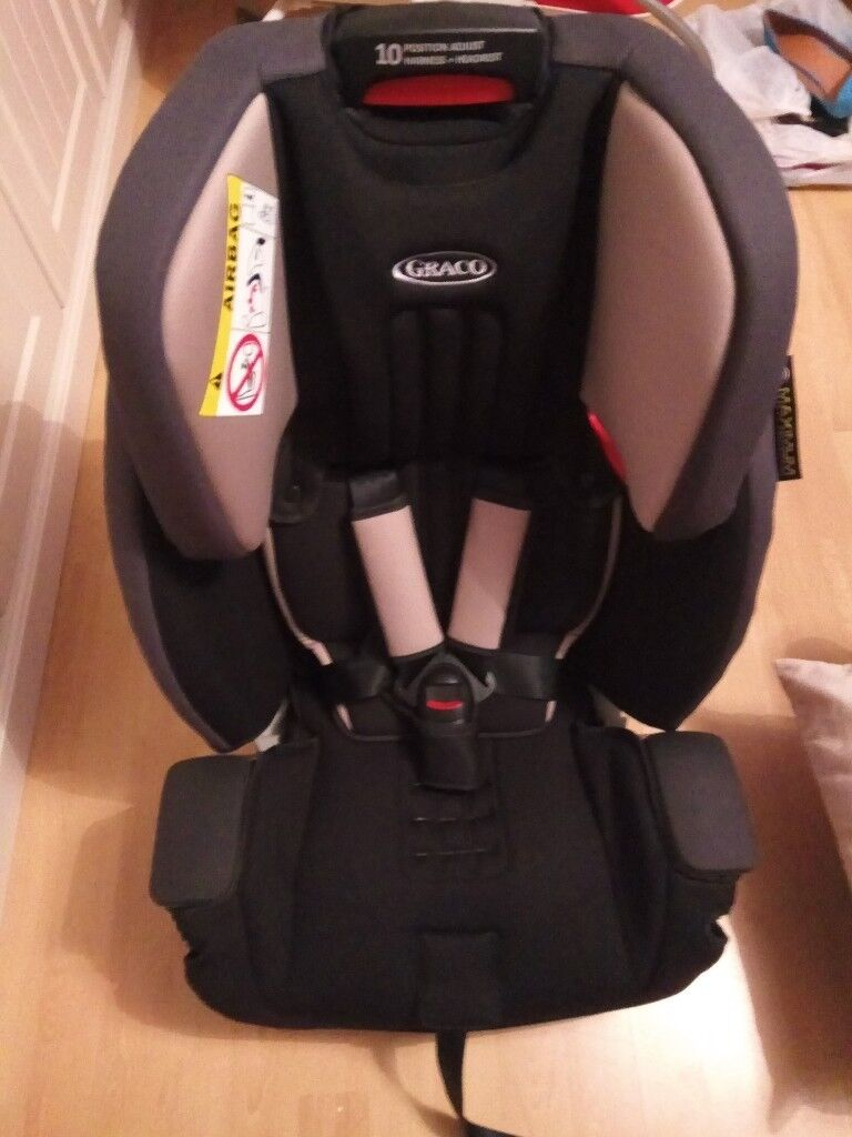 Brand New Unused Graco Milestone All In One High Back Booster Car Seat With