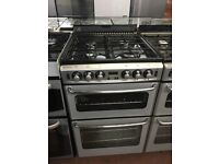 55CM SILVER STOVES GAS COOKER