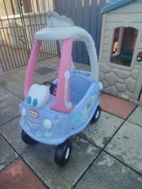 Little tikes cozy coupe fairy car