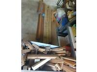 Wood / timber job lot